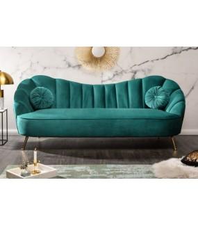 Sofa OLIVIO 220 cm turkusowa