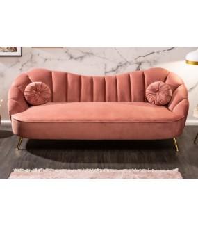 Sofa OLIVIO 220 cm antyczny róż