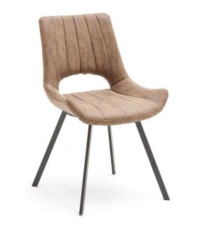 Krzesło tapicerowane OLYMPIA cappuccino