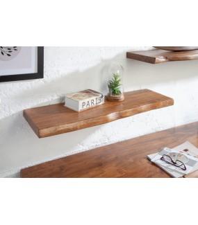 Półka ścienna Mammut idealnie sprawdzi się w skandynawskim salonie lub nowoczesnym wnętrzu.