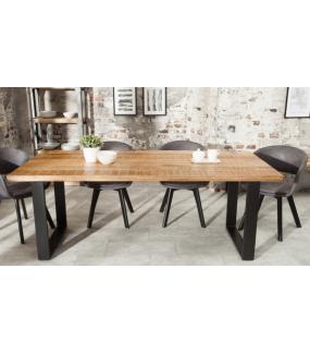 Stół Iron Craft 200 cm drewno Mango