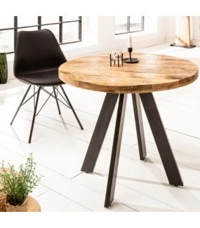Stół Iron Craft 80 cm drewno Mango