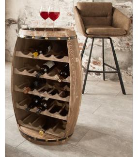 Stojak na wino Chateau 60 cm drewno jodła