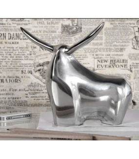Figurka Big Bull Aluminiowa
