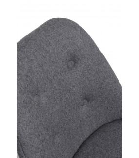 Krzesło Norden DSR pikowane szare