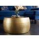 Stolik kawowy Orient II 60 cm złoty