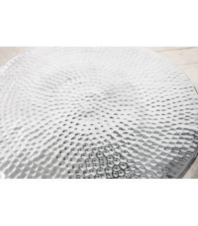 Stolik kawowy Orient 60 cm srebrny