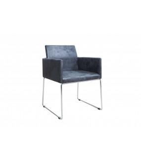 Krzesło Livorno szare do jadalni