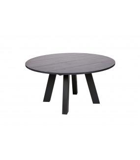 Stół Rhonda czarna noc R150cm