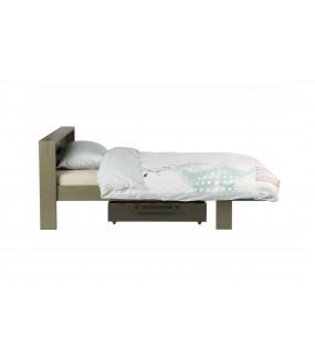 Łóżko i Szuflada Derk Zielony Leśny