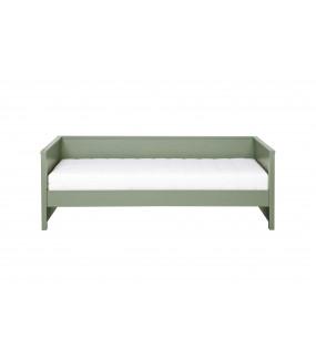 Łóżko z oparciem Nikki oliwkowe