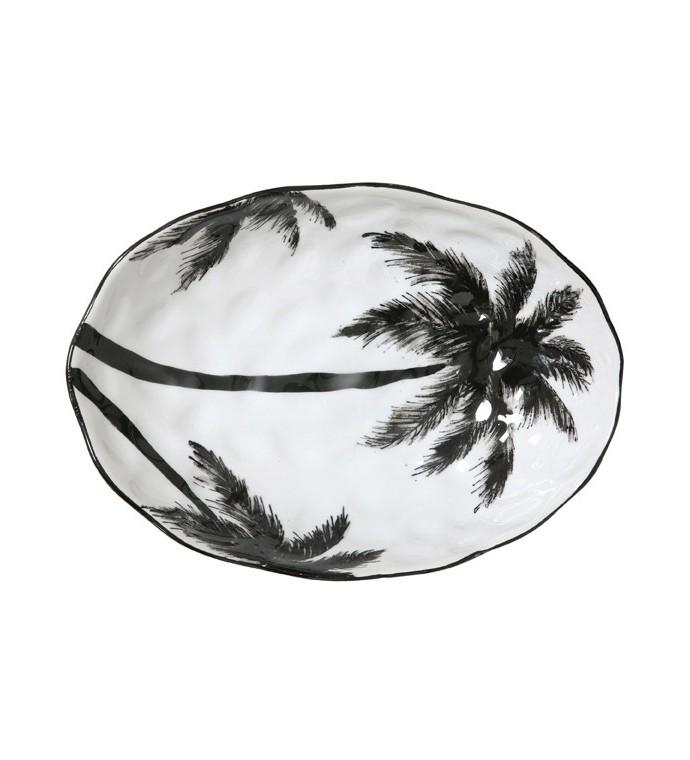 Porcelanowa Salaterka W Palmy
