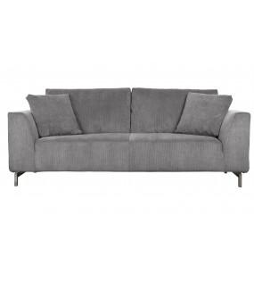 Sofa Dragon 3-osobowa Szara