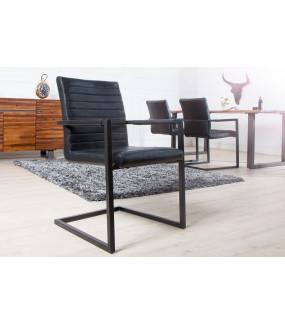 Krzesło Loft antyczne czarne
