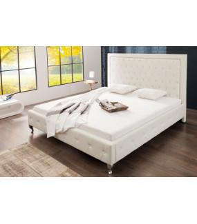 Łóżko Extravagancia białe 180x200 cm